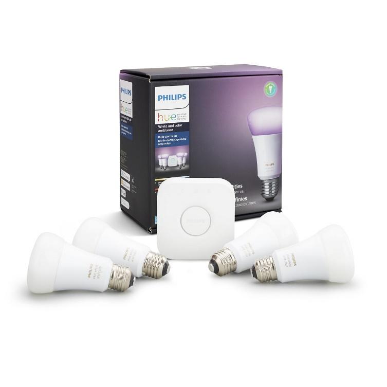 La línea de iluminación inteligente Philiphs Hue se une al Buen Fin 2019 - kit-basico-de-ambientacion-philips-hue-white-de-color