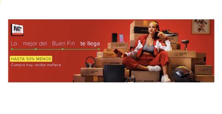 Mercado Libre en el Buen Fin ¡Smartphones, licores, moda y robots entre las ofertas más atractivas!