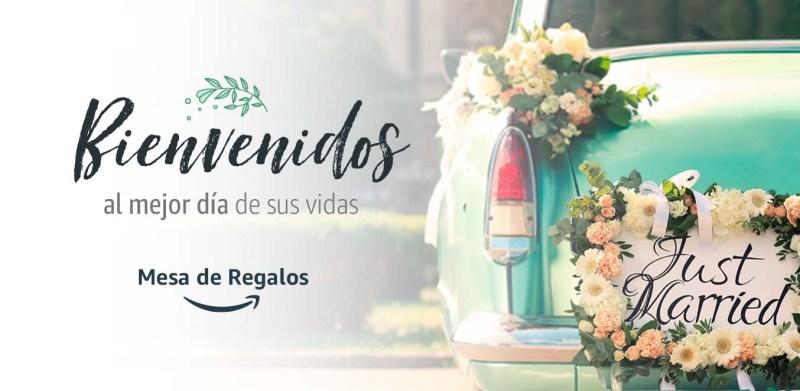 Crear mesa de regalos de Boda en Amazon ya es posible ¡Conoce los beneficios! - mesa-de-regalos-boda-800x391