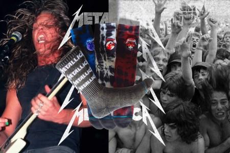 Colección Metallica x Stance ¡son 4 modelos con el nombre de sus mas famosos albumnes!