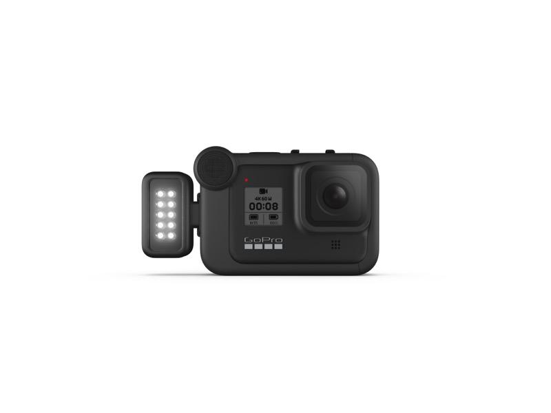 Nuevo GoPro Light Mod, luz autónoma resistente al agua y recargable - 39827426_hero8_black_light_mod_-90_sidemount_master