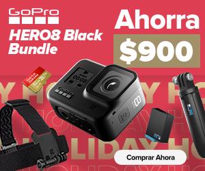 GoPro anuncia sus ofertas para esta navidad 2019 - hero8black_holida