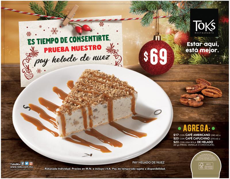 Toks lanza tres platillos y tres variedades de Rosca de reyes - toks_pay-de-nuez