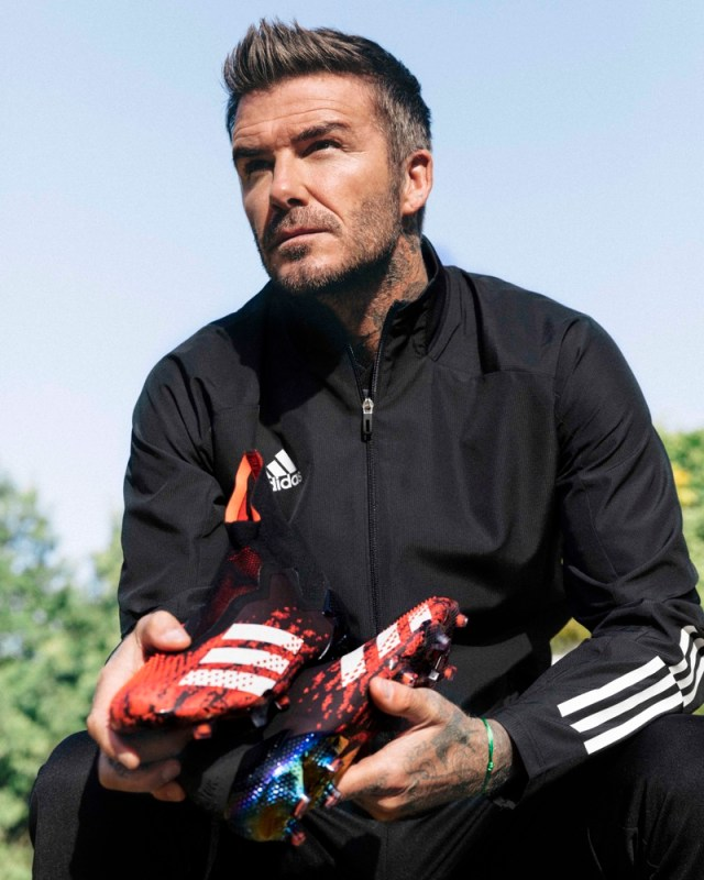Predator 20 Mutator, el primer calzado en incorporar DEMONSKIN de Adidas - david-beckham