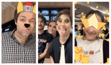 Prueba los nuevos filtros para Instagram de Cartoon Network