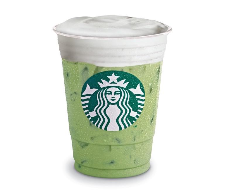 Las 10 bebidas originales de Starbucks ¡que tienes que probar! - green-tea-latte-helado_starbucks-800x670