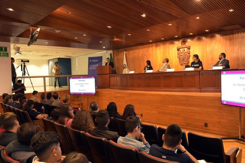 Inicia la primera generación del modelo P-TECH en la Universidad de Guadalajara - modelo-p-tech