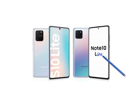 Inicia preventa en línea de los nuevos: Galaxy S10 Lite y Note10 Lite de Samsung