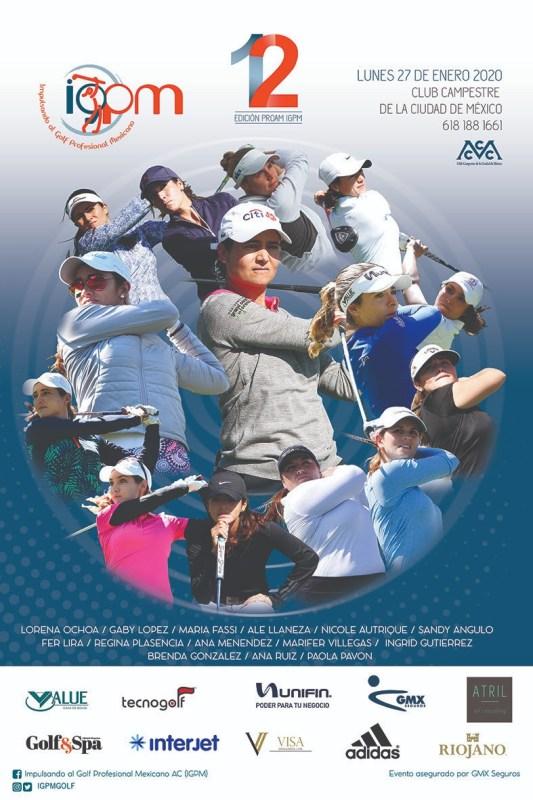El Torneo de Golf Femenil IGPM llevará a cabo su doceava edición - torneo-pro-am-igpm-golf-femenil-533x800
