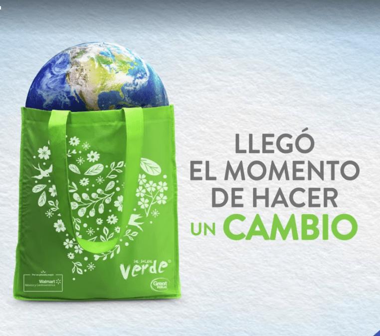 Walmart inicia entrega de medio millón de bolsas reutilizables - walmart-bolsas-reutilizables