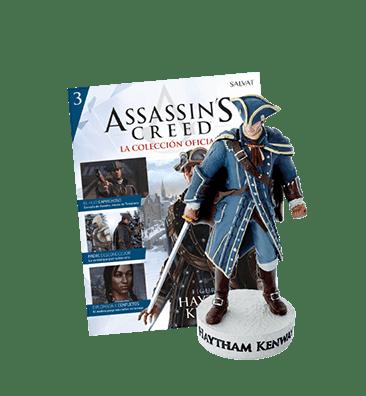 Ubisoft lanza colección oficial de Assassin's Creed - assassins-creed-coleccion-oficial-entrega-3