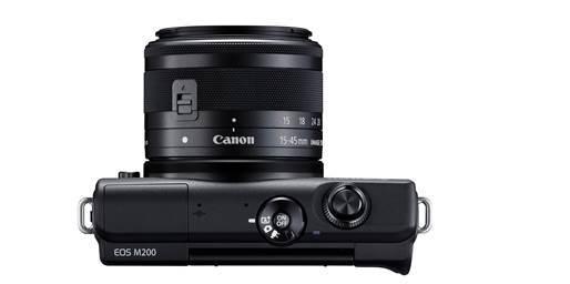 Canon lanza EOS M200, la cámara ideal para creadores de contenido - camara-eos-m200-canon_1