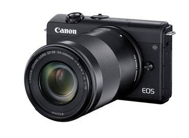 Canon lanza EOS M200, la cámara ideal para creadores de contenido - camara-eos-m200