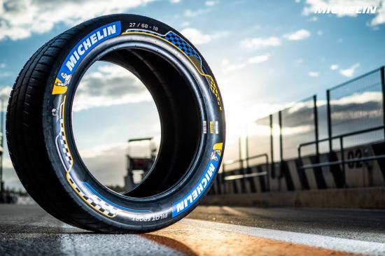 Michelin presenta Pilot Sport, la primera llanta de carreras conectada al motor para la Fórmula E 2019/2020 - michelin