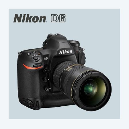 Nueva Nikon D6 y dos lentes nuevos Nikkor Z