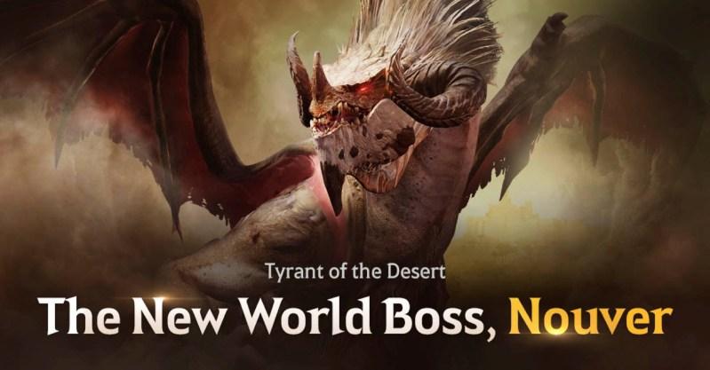 ¡El nuevo jefe de mundo, Nouver, se lanza en Black Desert Mobile! - nouver-se-lanza-en-black-desert-mobile