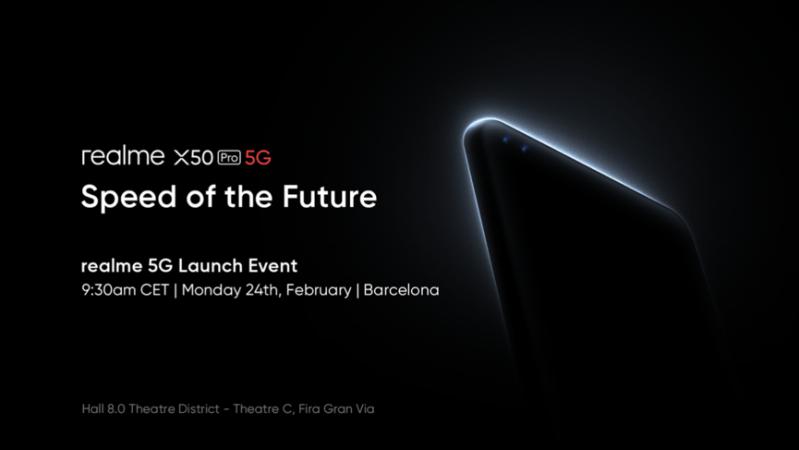 Realme presentará su nuevo smartphone 5G insignia: realme X50 Pro 5G en el Mobile World Congress 2020 - realme-x50-pro-5g-mwc