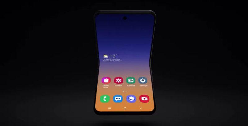 El Samsung Galaxy Z Flip aparece en vídeo antes de su presentación oficial - samsung-galaxy-z-flip-render