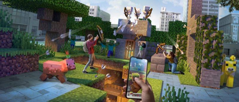 ¡Juega Aventuras de Minecraft Earth desde casa! - actualizaciones-para-minecraft-earth