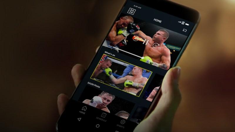 DAZN, el servicio de streaming de deportes llega a México - dazn-streaming-de-deportes