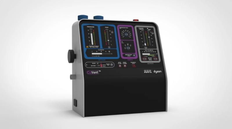 Dyson desarrolla CoVent, un ventilador portátil para ayudar con el COVID-19 - dyson-covent_1-800x448