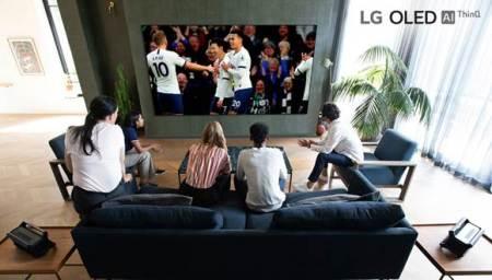 LG graba el partido del Tottenham Hotspur en 8K, donde se exhibirá en televisores OLED 8K y Nanocell 8K