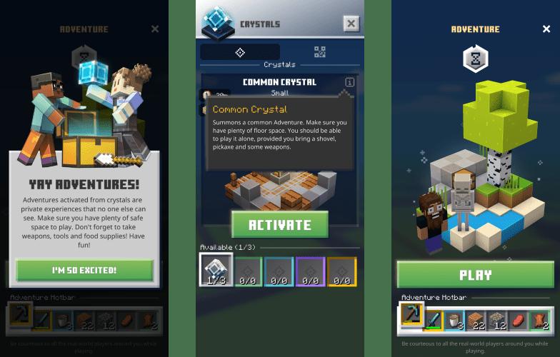 ¡Juega Aventuras de Minecraft Earth desde casa! - minecraft-earth