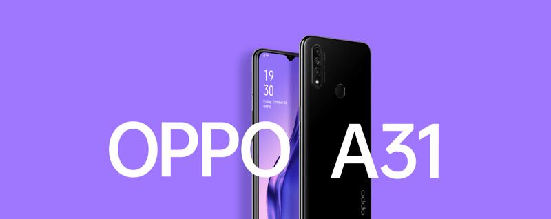 OPPO llega a México con los smartphones A9 2020 y A31 - oppo-a31-triple-camara