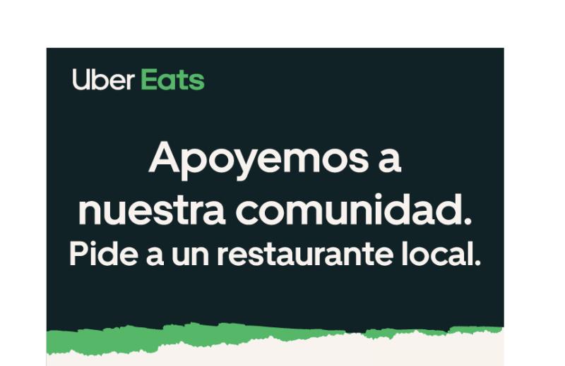 En Uber Eats, si haces tu pedido a un restaurante local, el costo de envío es gratis - uber-eats_restaurante_local