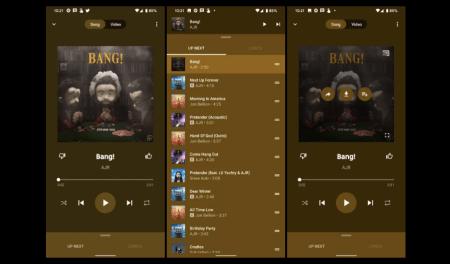 La app móvil de YouTube Music se actualiza con nuevo diseño y letras de canciones