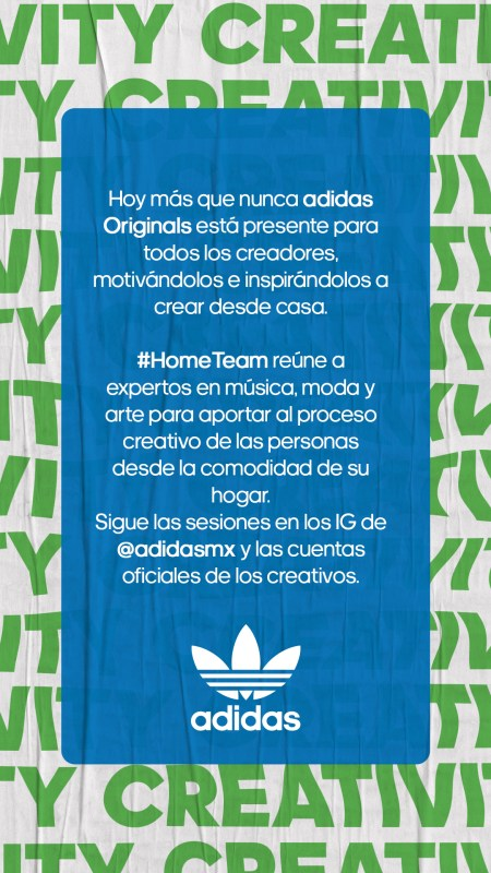 adidas presenta #HomeTeam ¡conoce el calendario de sus actividades! - adidas-home-team