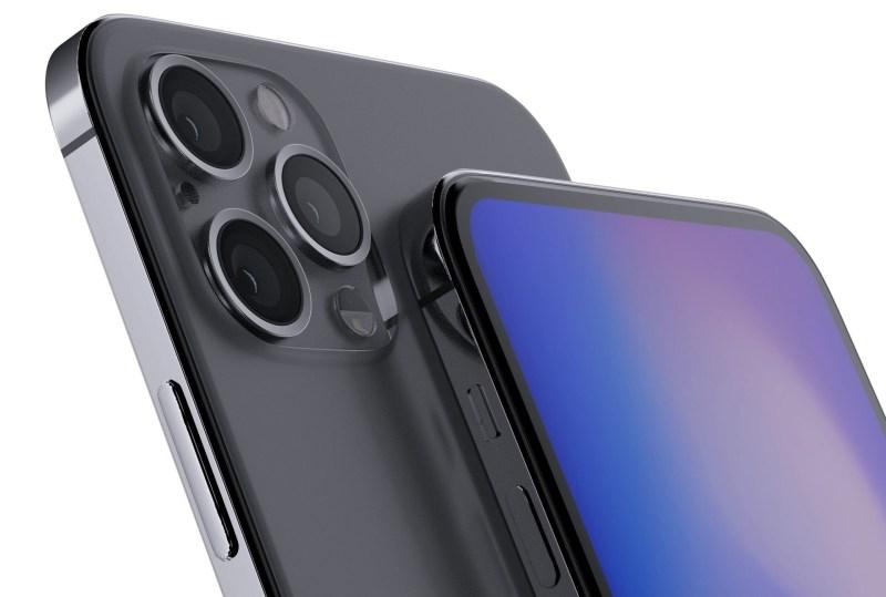 iPhone rediseñado y un nuevo HomePod: estos son algunos productos de Apple para el 2020 - apple-iphone-2020-render