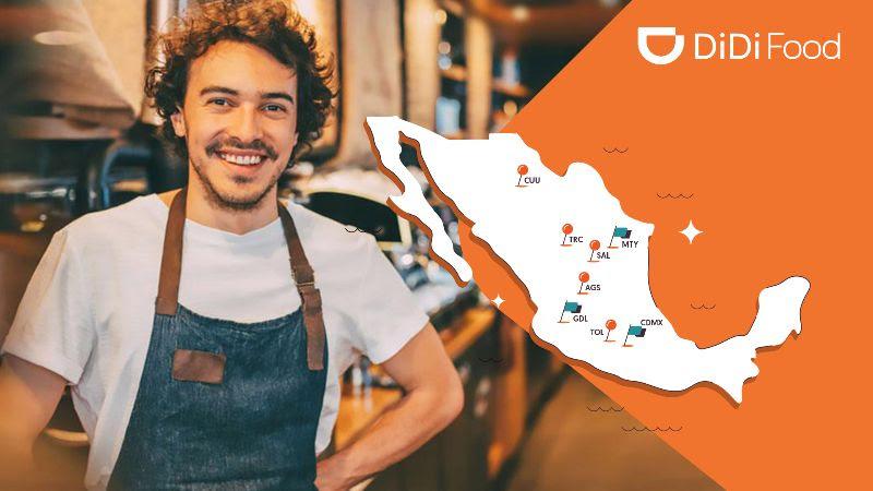 DiDi Food llegará a 5 nuevas ciudades y expande su oferta - didi-food-nuevas-ciudades-800x450