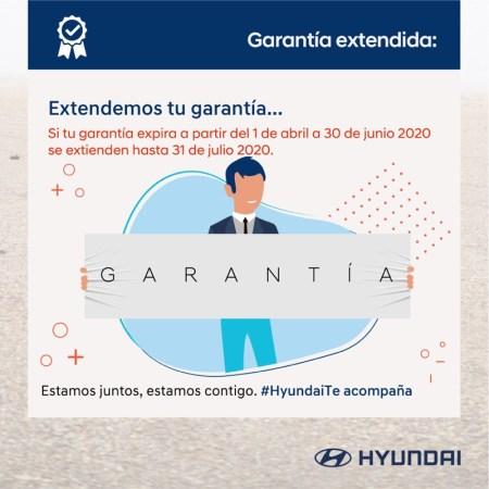 Hyundai apoya con Garantía Extendida y una prórroga en su crédito con BBVA