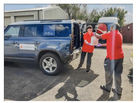Jaguar Land Rover en apoyo ante el Coronavirus