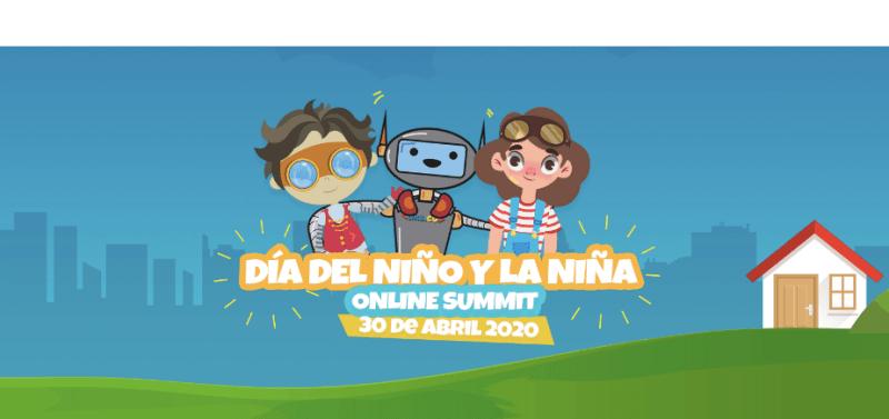 KidZania te invita a disfrutar un Día del Niño inolvidable desde casa - kidzania-online-summit-800x377