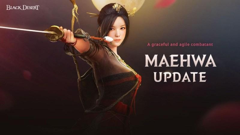 La clase Maehwa ¡disponible en Black Desert para Xbox One y PlayStation 4! - maehwa