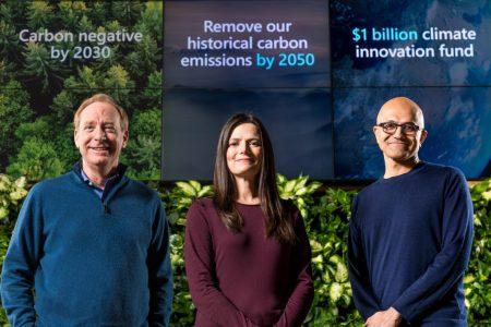 Microsoft celebra el Día de la Tierra con plan para proteger al planeta