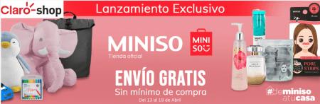 Miniso llega, en exclusiva a Claro Shop ¡con envíos gratis a todo México!