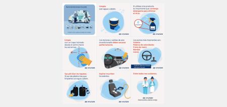 Recomendaciones para limpiar tu auto y reducir riesgos de contagio