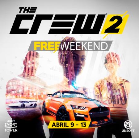 The Crew 2 fin de semana gratuito del 9 al 13 abril