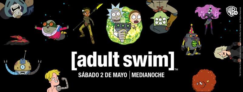 Gran estreno Adult Swim por Warner Channel - adult-swim-800x304