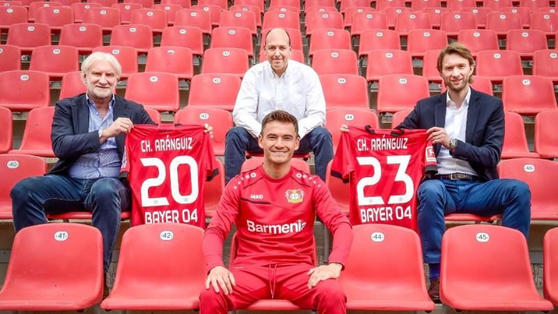 Bayer 04 Leverkusen y Charles Aránguiz firmaron una extensión de contrato de tres años - bayer-04-leverkusen-charles-aranguiz