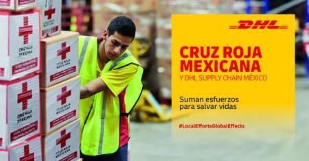 DHL y Cruz Roja suman esfuerzos para distribuir material de protección de manera urgente
