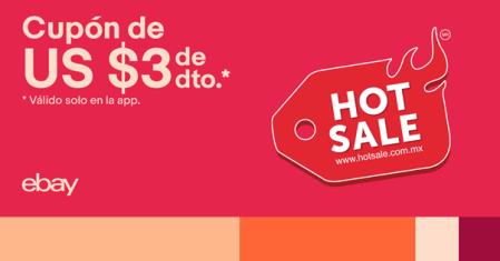 Cupón de descuento adicional de eBay para Hot Sale 2020