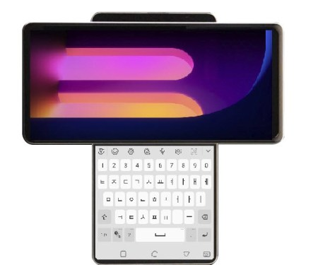 LG Wing: un smartphone con pantalla giratoria que podríamos ver pronto