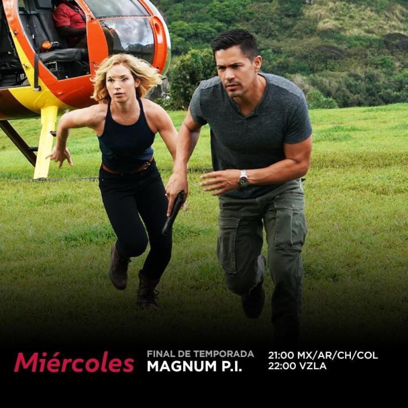 Finales de temporada de: MAGNUM PI y FBI: MOST WANTED en Universal TV - magnum-pi-800x800