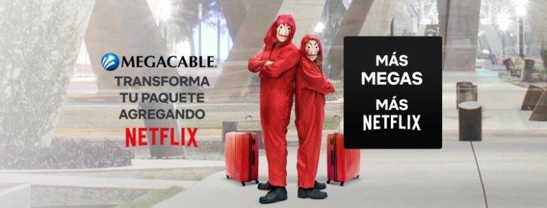 Megacable con paquetes con suscripción a Netflix - megacable-netflix