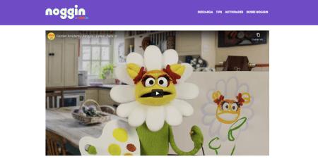 Nuevo micrositio de Noggin con actividades educativas gratuitas para los niños
