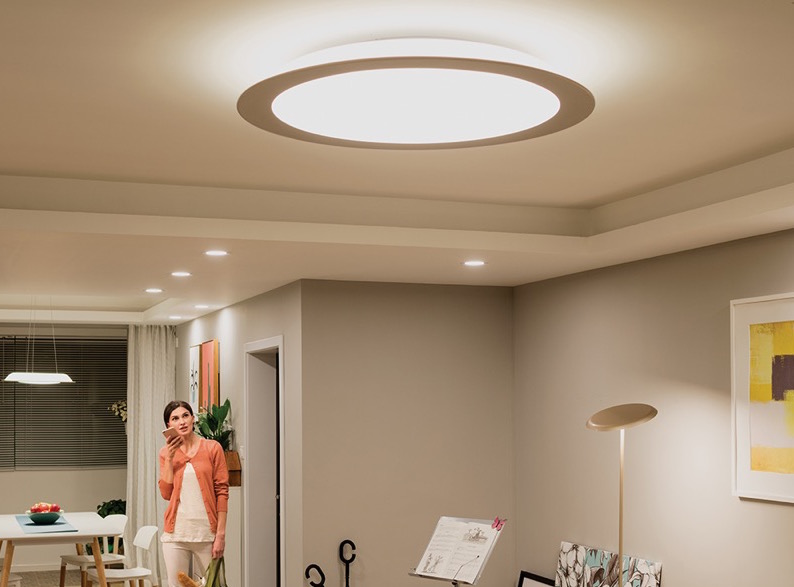 Signify en el Hot Sale 2020 con descuentos en su línea Philips Hue - muscari-lampara-techo-hue